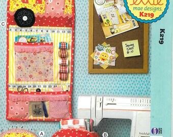Sewing Pattern - Craft Sewing Pattern, Pincushion, Storage Bos and Organizer  Kwik Sew #K0219