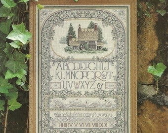 English Cottage Sampler Cross Stitch Chart