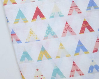Double Gauze Fabric Alphabet By The Yard