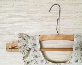 Wooden suit hangers set of 3 vintage cloth hangers wedding dress hangers soviet vintage trousers hanger