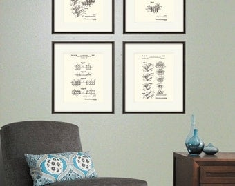 Lego Set Patent Art Print Decor Poster Wall