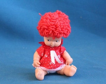 famosa baby doll  Red hair famosa 1000 made in spain