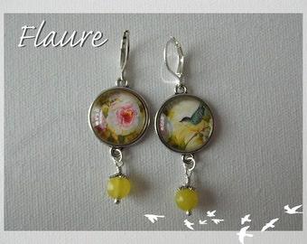 "Earrings ""English Garden"""