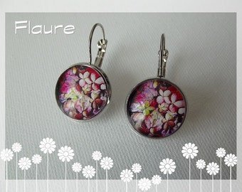 "Earrings of ""Autumn Flowers"""