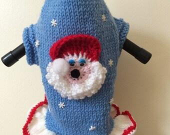 Christmas dog sweater/dress