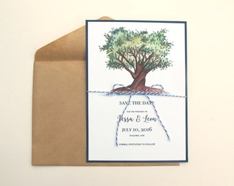 Tree of Life Wedding Save the Date
