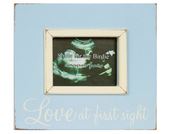 NEW Malden Love At First Sight Decorative Baby Sonogram /& Newborn Picture Frame