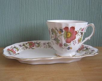 Vintage Duchess Tea Cup and Saucer Tennis Set