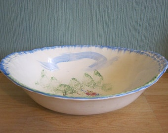 W H Grindley & Co (LTD)Oval Hand painted Bowl