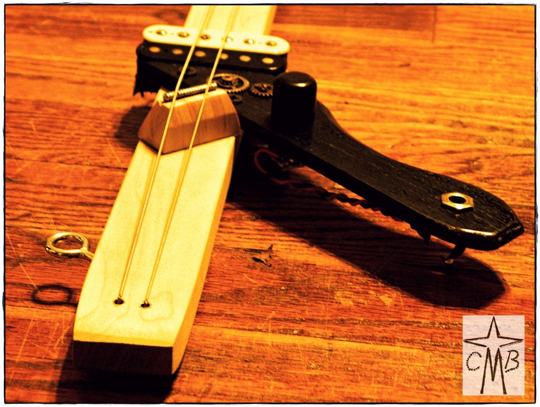 ds 2 djent stick two string diddley bow guitar. Black Bedroom Furniture Sets. Home Design Ideas