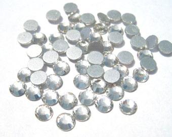 Clear Glass Flatback Rhinestone -A Grade SS20 (4mm)No-Hotfix