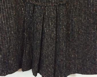 vintage French skirt great 1940s design high quality skirt