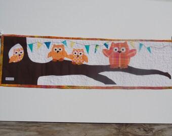 Hooty Owl Celebration Banner
