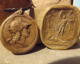 Athena / Athene - Greek goddess necklace - Also known as Minerva in Roman myth
