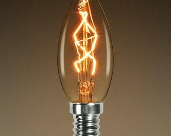 25 Watt Bullet Shaped Edison Candelabra Bulb
