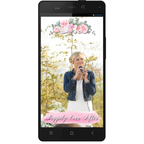 Snapchat GeoFilter for Wedding- Digital Download