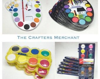 Watercolor Paint Sets. Watercolor Paints Party Packs. Watercolor Paint Palettes. Variety BULK Watercolor Paint Sets.