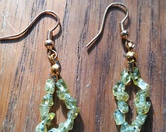 Handmade Peridot Earrings