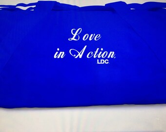 Love in Action - Duffle Bag