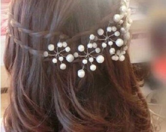 Bridal Wedding Hair Pins for Women and Girls (Pack of 5)