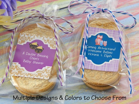 twins baby shower favors twin baby shower ideas baby shower cookie