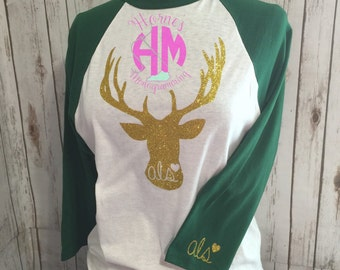 "The ""Bless your deer heart"" baseball tee"