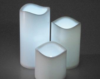 Flameless LED Candle Light, White