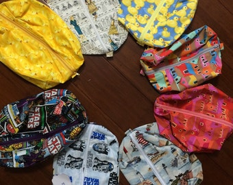 20 bags for 225.00 I will mix and match great Toiletry bags / gift bags / toy bags - making each bag 11.25