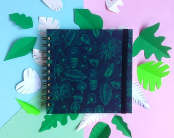 Tropical Hardcover Notebook
