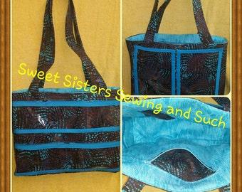 Batik oily/jewelry bag