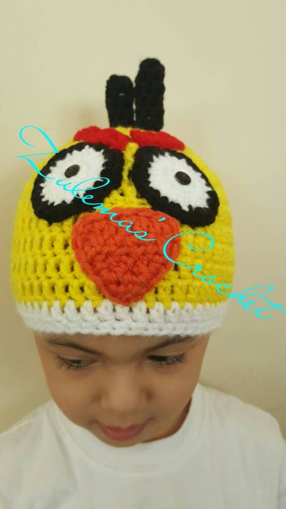 Angry Birds Crochet Hat Crochet Angry Birds Angry Birds