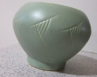 Green Floraline Vase