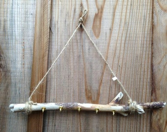 Driftwood Necklace Jewelry Holder