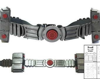 Template for Ant-Man Utility Belt