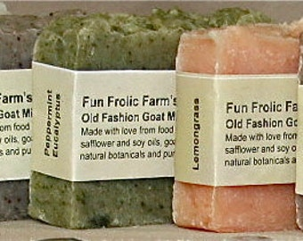 Old Fashioned Goat Milk Soaps