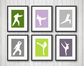 Martial Arts - Karate Gift under 10 - Karate Studio - Personalized Karate Print - Playroom Decor - Sports Decor - Kids Room - Sports Art