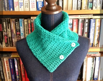 READY TO SHIP!! Limited Edition! Turquoise  Cowl