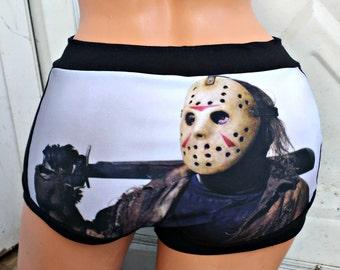 Jason Voorhees Panties Lingerie underwear
