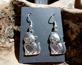 Kitty Love Earrings