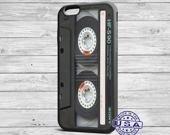 Retro Tape Cassette iPhone 6, 6 Plus, 5s, 5c, 5, 4s, 4 Cover, retro cassette case