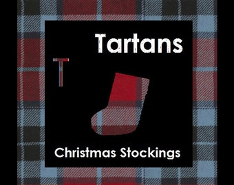 Tartan Christmas Stocking - T Names like Taylor, Thompson, Turnbull