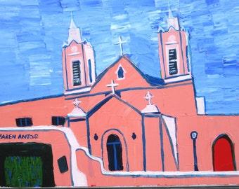 San Felipe de Niro Cathedral, Albuquerque