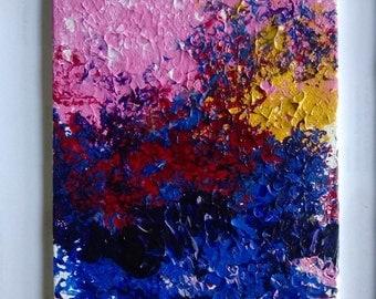 Small original acrylic painting