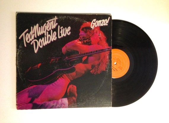 Ted Nugent Double Live Gonzo Cat Scratch Fever