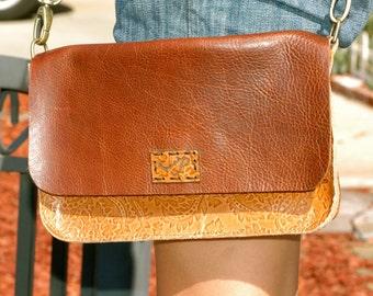 Leather Cross body bag, Shoulder Bag, Clutch, Shopping Bag, Handbag,  Genuine Leather