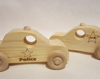 Police Car (wooden)