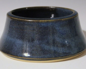 Blue-Purple Dog Bowl
