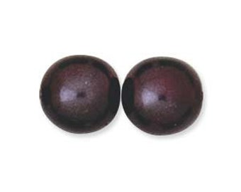 6mm Eggplant Round Pearls Czech Glass 75pcs