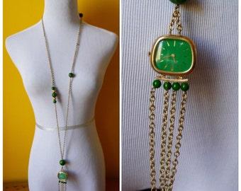 Bakelite Watch Necklace