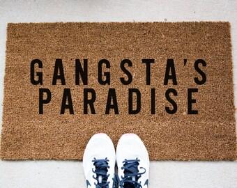 Paradise Doormat - Funny Doormat - Welcome Mat - Funny Rug - Reminder Rug - Sassy Doormat - Sassy Doormat - Unique Doormat - Quote Mat